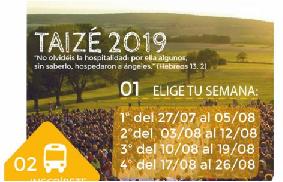 Taizé 2019 - Pastoral  Infancia y Juventud